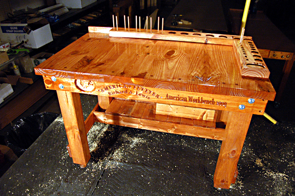 fly tying table design